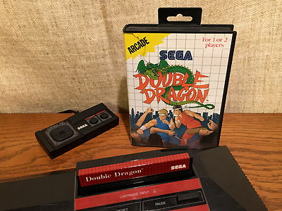 SEGA Master System Double Dragon