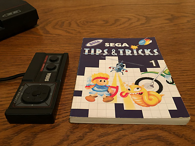 SEGA Master System Tips & Tricks Buch