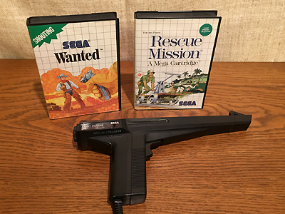 SEGA Master System Light Phaser Spiele