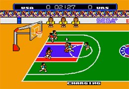 SEGA Master System Great Basketball